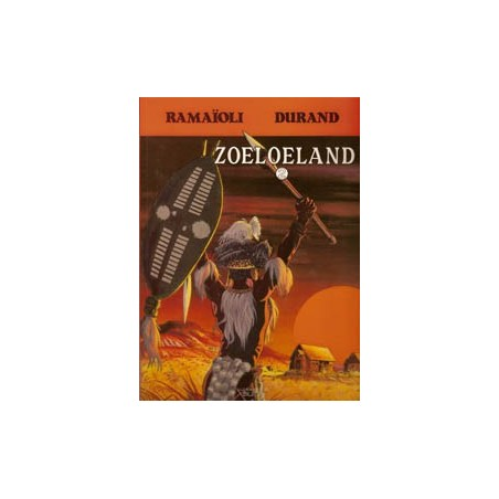 Zoeloeland 02 Zwart als hel 1e druk 1990
