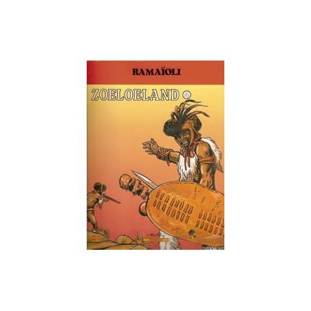 Zoeloeland 04 Te vuur en te zwaard 1e druk 1992