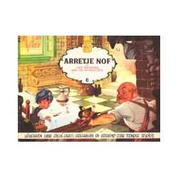 Arretje Nof 06 Het raadsel van de stokertjes 1e druk 1957
