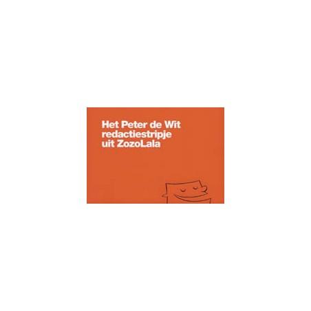 De Wit   Het Peter de Wit redactiestripje uit ZozoLala