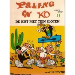 Paling en Ko 11<br>De kist met tien sloten<br>1e druk 1974