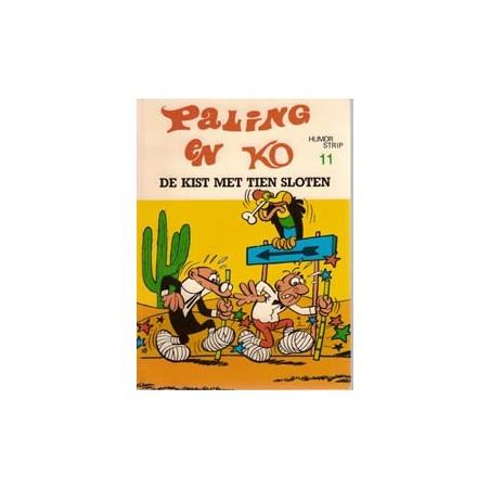 Paling en Ko 11 De kist met tien sloten 1e druk 1974