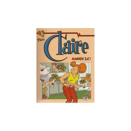 Claire  18 Mannen zat!