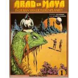 Arad en Maya 01 In de ban v/d Flerenplaneet 1e druk 1977