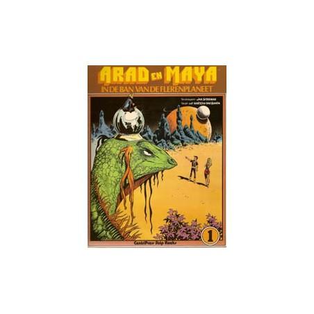 Arad en Maya 01 In de ban van de Flerenplaneet 1e druk 1977
