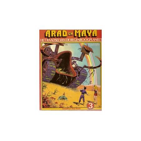 Arad en Maya 03% Raadsel van de Regenboogplaneet 1e druk 1978