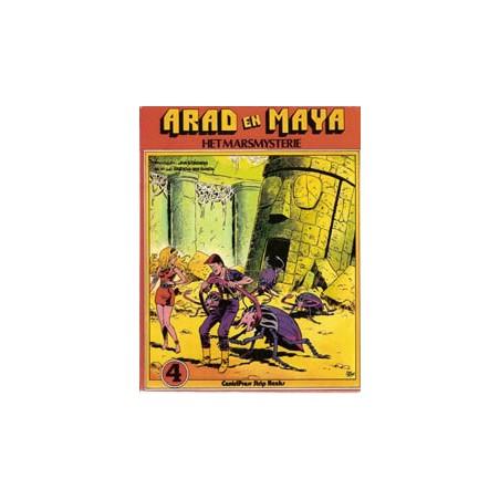 Arad en Maya 04 Het Marsmysterie 1e druk 1978