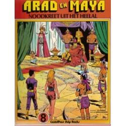 Arad en Maya 08 Noodkreet uit het Heelal 1e druk 1979