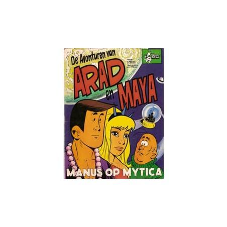 Arad en Maya Manus op Mytica 1e druk 1973