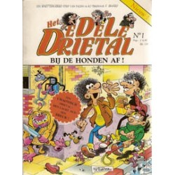 Edele Drietal 01<br>Bij de honden af!<br>1e druk 1991