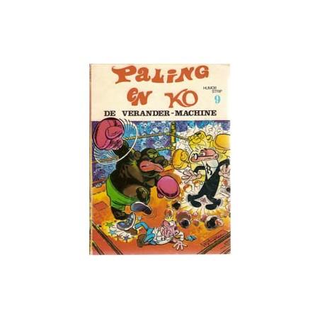 Paling en Ko 09 De Verander-machine 1e druk 1973