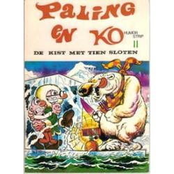 Paling en Ko 11<br>De kist met tien sloten<br>herdruk 1974