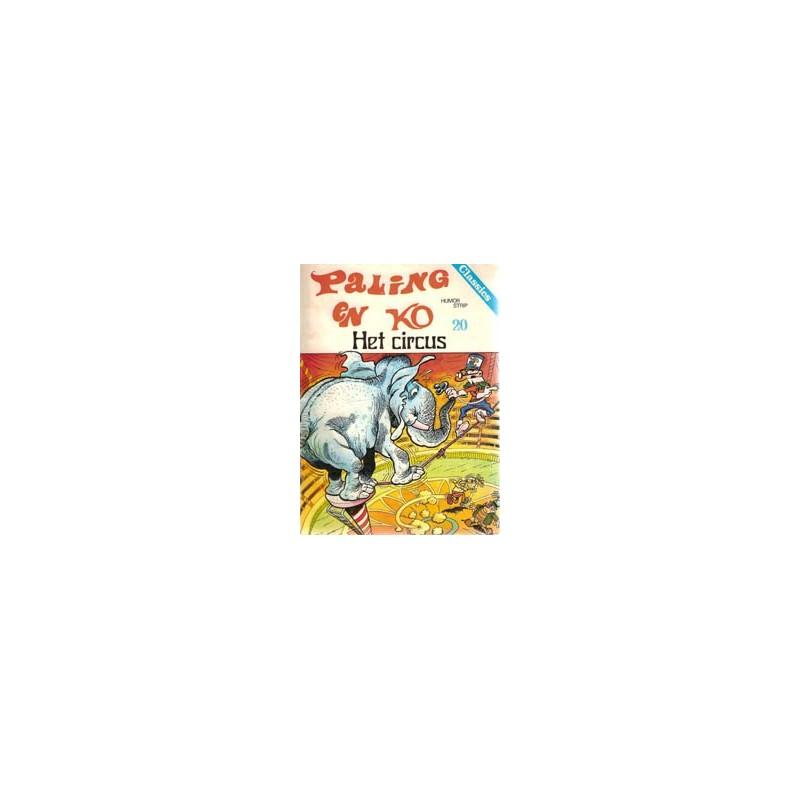 Paling en Ko 20 Het Circus 1e druk 1978