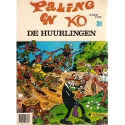 Paling en Ko 31<br>De Huurlingen<br>1e druk 1982