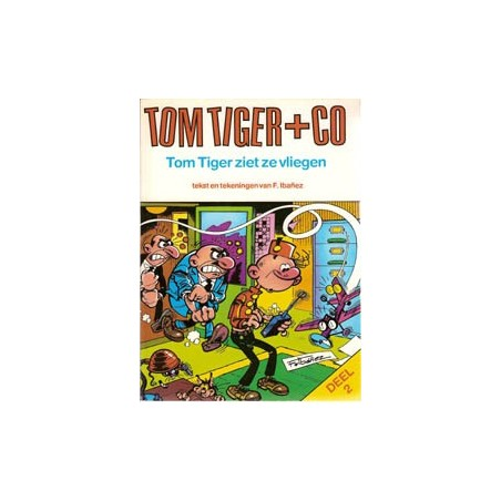 Tom Tiger+Co 02 Tom Tiger ziet ze vliegen 1e druk 1982