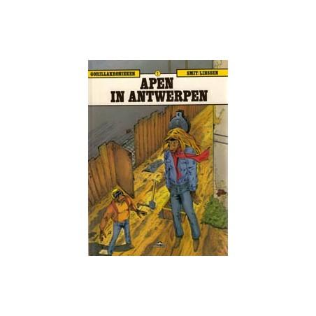 Gorillakronieken 01 HC Apen in Antwerpen 1e druk 1990