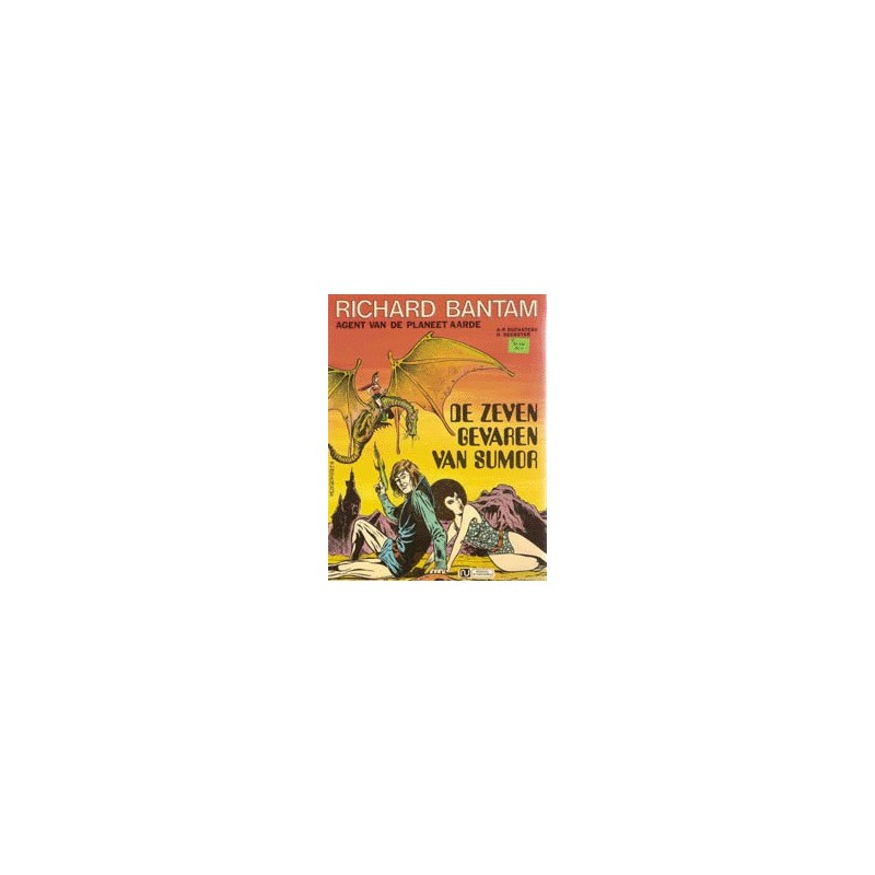 Richard Bantam setje deel 1 en 2 1e druk 1975-1976