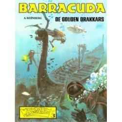 Barracuda N01 De Gouden Drakkars 1e druk 1979