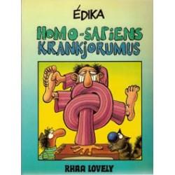 Edika<br>Homo-sapiens Krankjorumus<br>1e druk 1985
