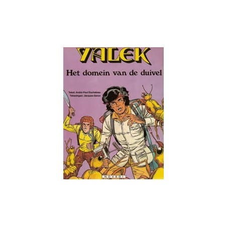 Yalek N08 Het Domein van de Duivel 1e druk 1984