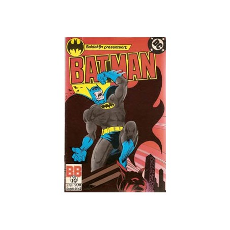 Batman 010 Wie sluipt daar door de nacht?