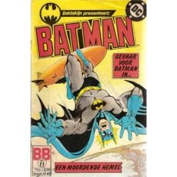 Batman 011<br>Gevaar voor Batman in een moordende hemel