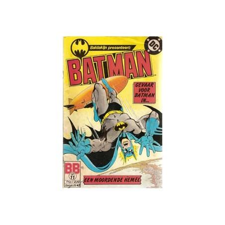 Batman 011 Gevaar voor Batman in een moordende hemel
