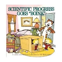 Calvin and Hobbes 06 Scientific progress goes 'Boink'