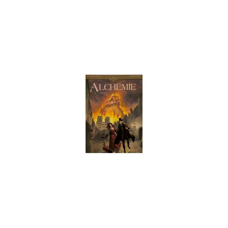 Alchemie 01 HC De vuurproef (Collectie 1800)