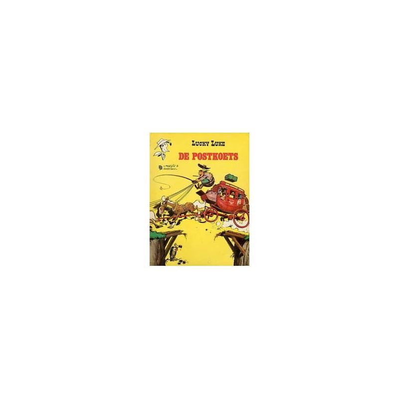Lucky Luke II 01 - De postkoets herdruk
