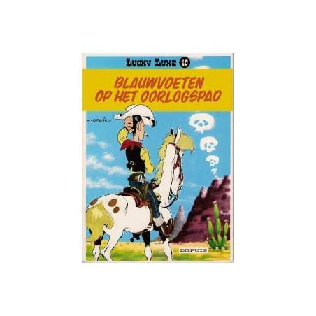 Lucky Luke 10 - Blauwvoeten op oorlogspad herdruk