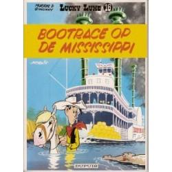 Lucky Luke<br>16 - Bootrace op de mississipi<br>herdruk