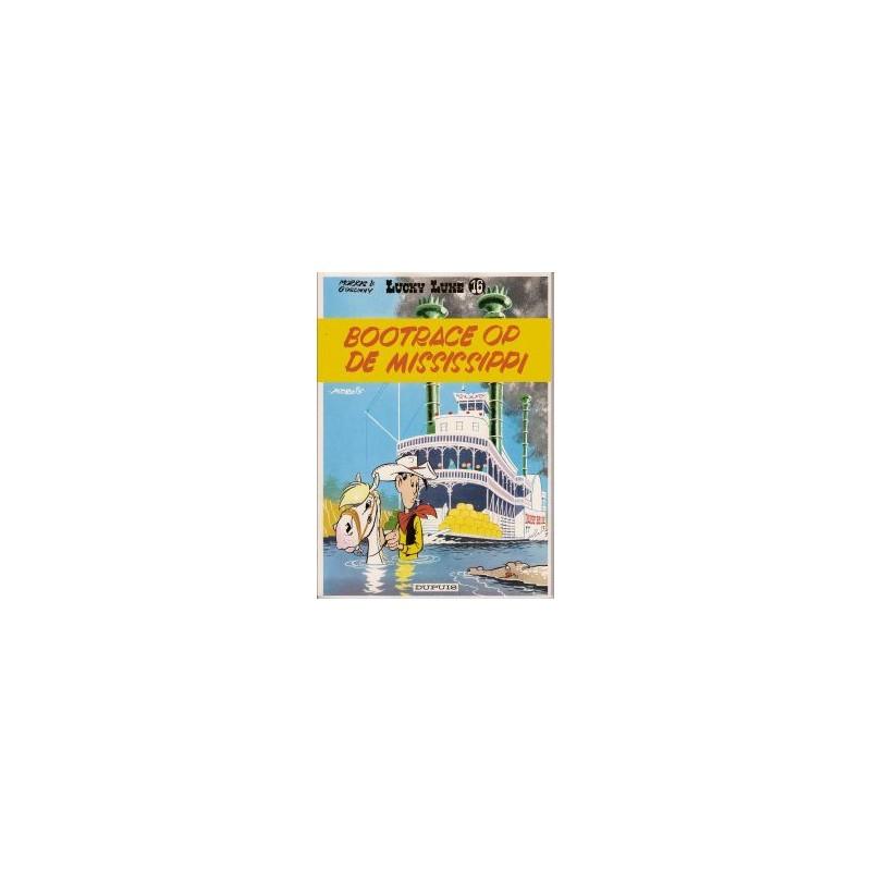 Lucky Luke 16 Bootrace op de Mississippi herdruk