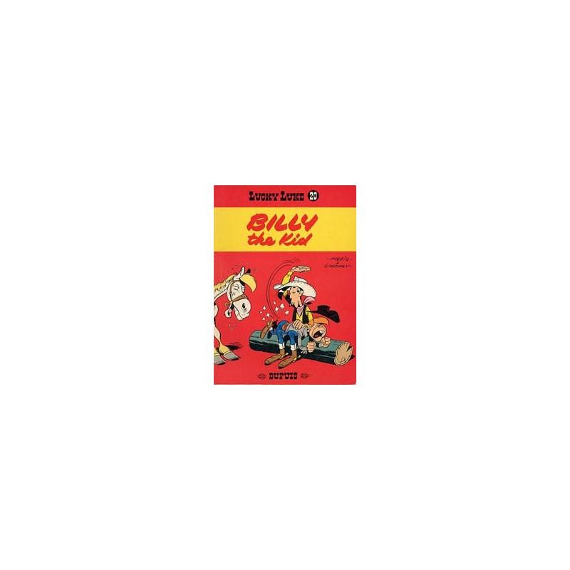 Lucky Luke 20 Billy the Kid herdruk