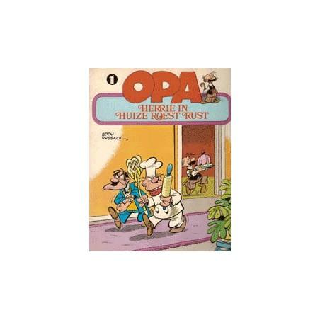 Opa setje deel 1 t/m 4 1e drukken 1977-1981