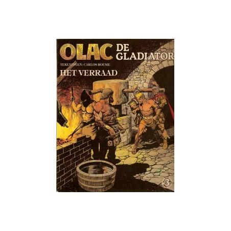 Olac de Gladiator 03 Het verraad 1e druk 1980