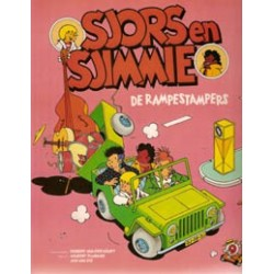 Sjors & Sjimmie 09 De Rampestampers 1e druk 1998