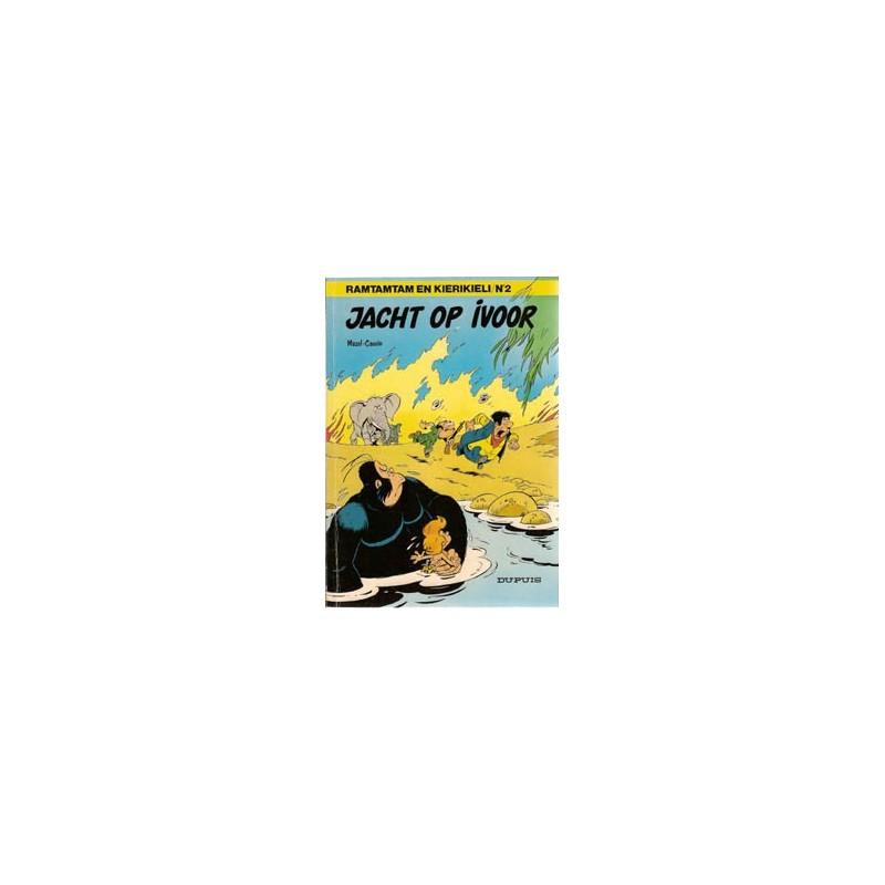 Ramtamtam en Kierikieli 02 Jacht op ivoor 1e druk 1980