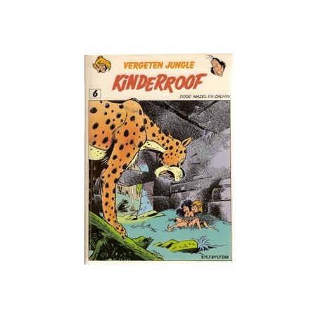Vergeten Jungle 06 Kinderroof 1e druk 1984