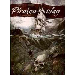 Piratenvlag 01 HC<br>Schuim en bloed