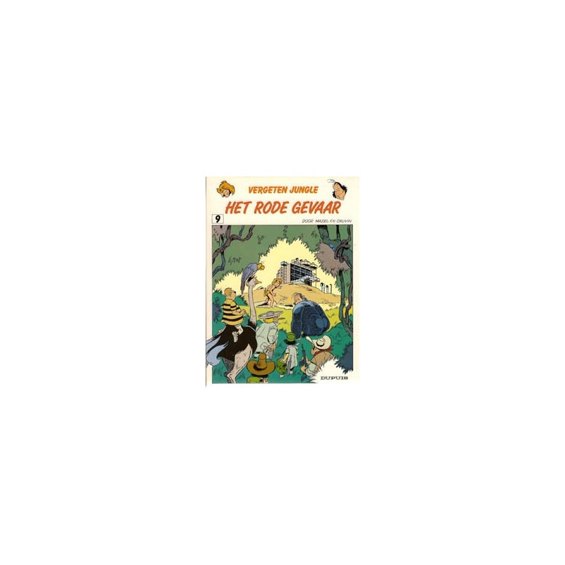 Vergeten Jungle 09% Het rode gevaar 1e druk 1987