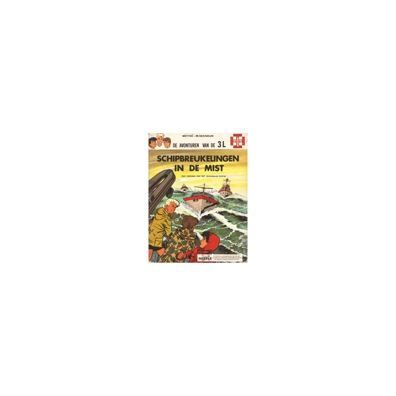 3L Schipbreukelingen in de mist 1970 Nestle-uitgave