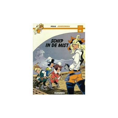 Jeugdzonden 19 De musketiers Schip in de mist 1e druk 1984