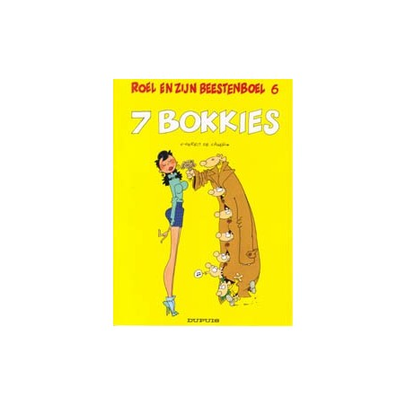 Roel en zijn beestenboel 06 7 bokkies 1e druk 1992