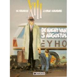 XIII<br>07 - De nacht van 3 augustus<br>1e druk 1992