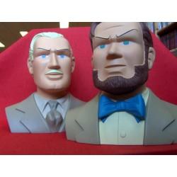 Blake & Mortimer<br>beeld LBM03/04 - Buste setje kleur