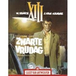XIII<br>promo - Zwarte vrijdag (Gazet van Antwerpen)<br>1e druk