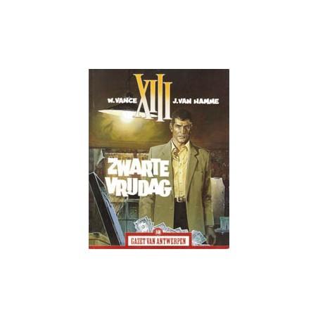 Gazet van Antwerpen reclame-album 13 XIII Zwarte vrijdag 1e druk 2004