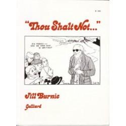 Burnie 'Thou Shalt Not…'  HC 1e druk 1974 Engelstalig