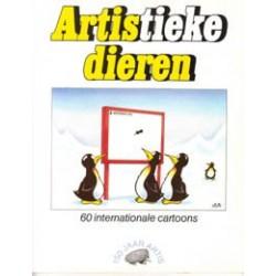 Artistieke dieren 01 60 internationale cartoons 1e druk